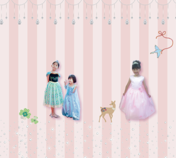 4/20(土)ドレスで遊ぼう!「孫と撮る写真」イベント参加プリンセス募集。